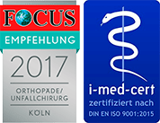 Ziolko Siegel von Focus und i-med-cert